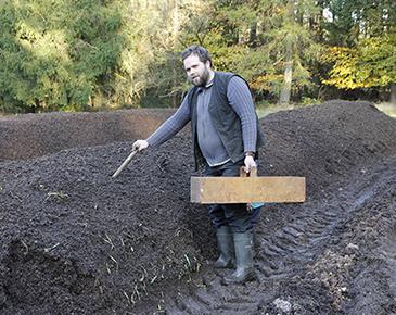 Mit Kompost fürs Klima